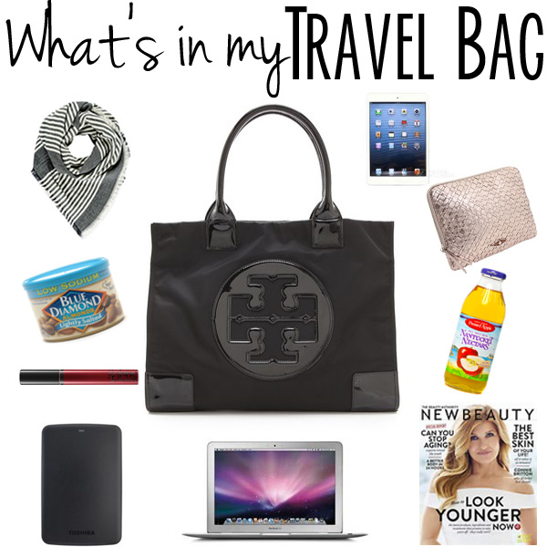 whats in my travel bag with travel tips