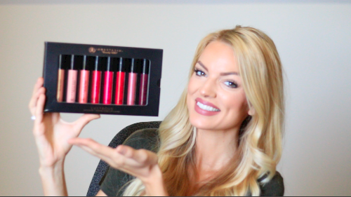 anastasia beverly hills lustrous lipgloss kit swatches