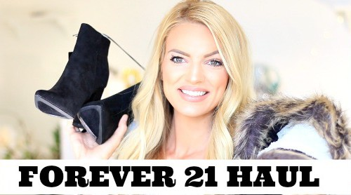 Forever 21 fall clothing haul