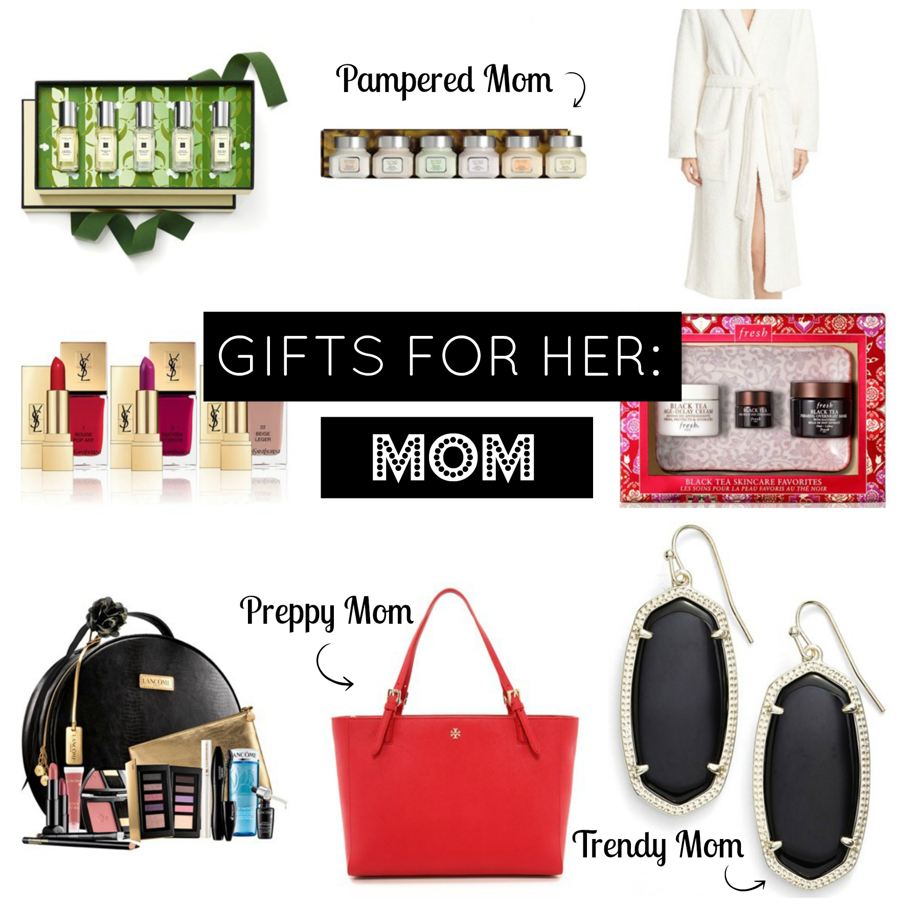 Holiday gift guide gifts for mom airelle snyder Christmas ideas for mothers
