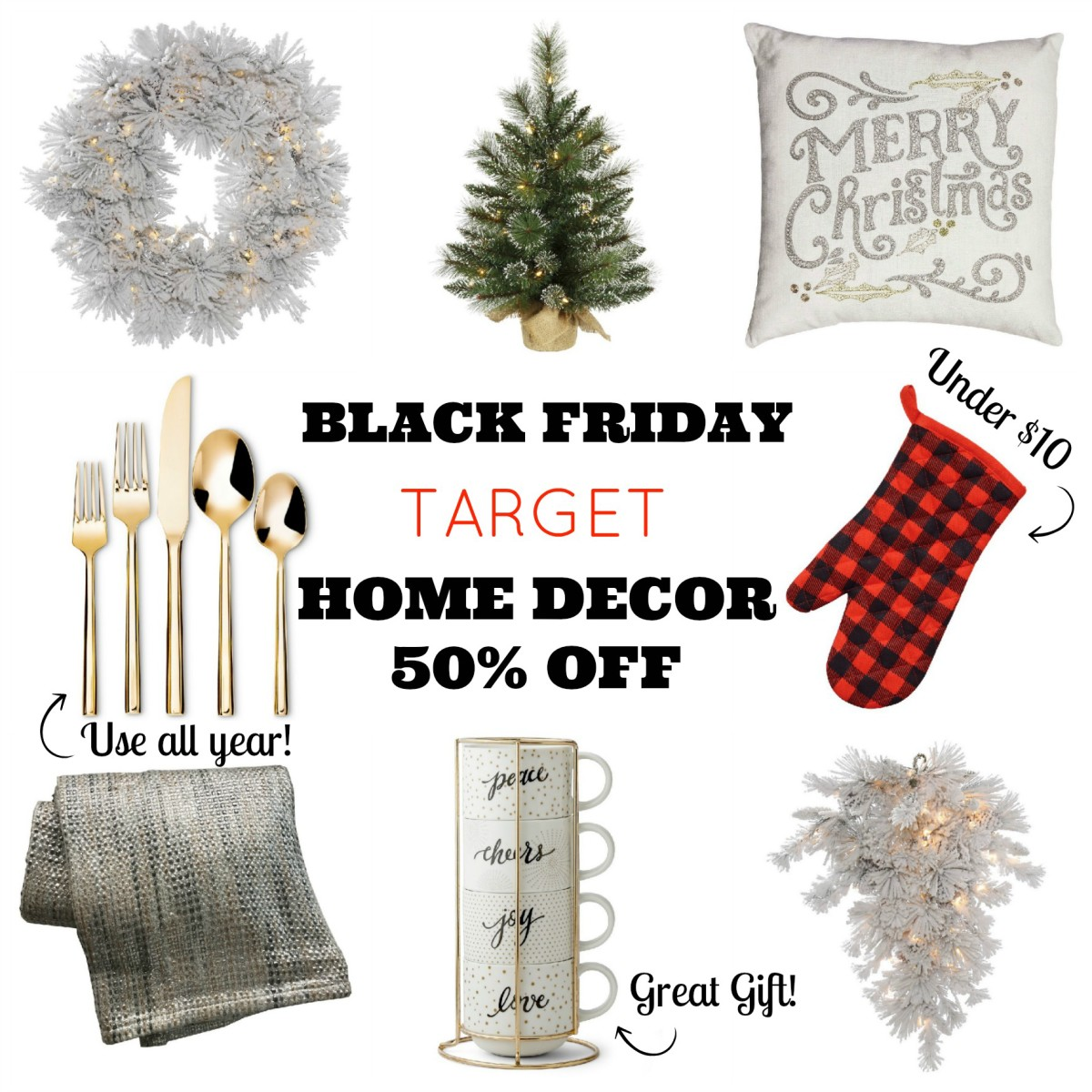black friday deals target home decor - Black Friday Christmas Decorations