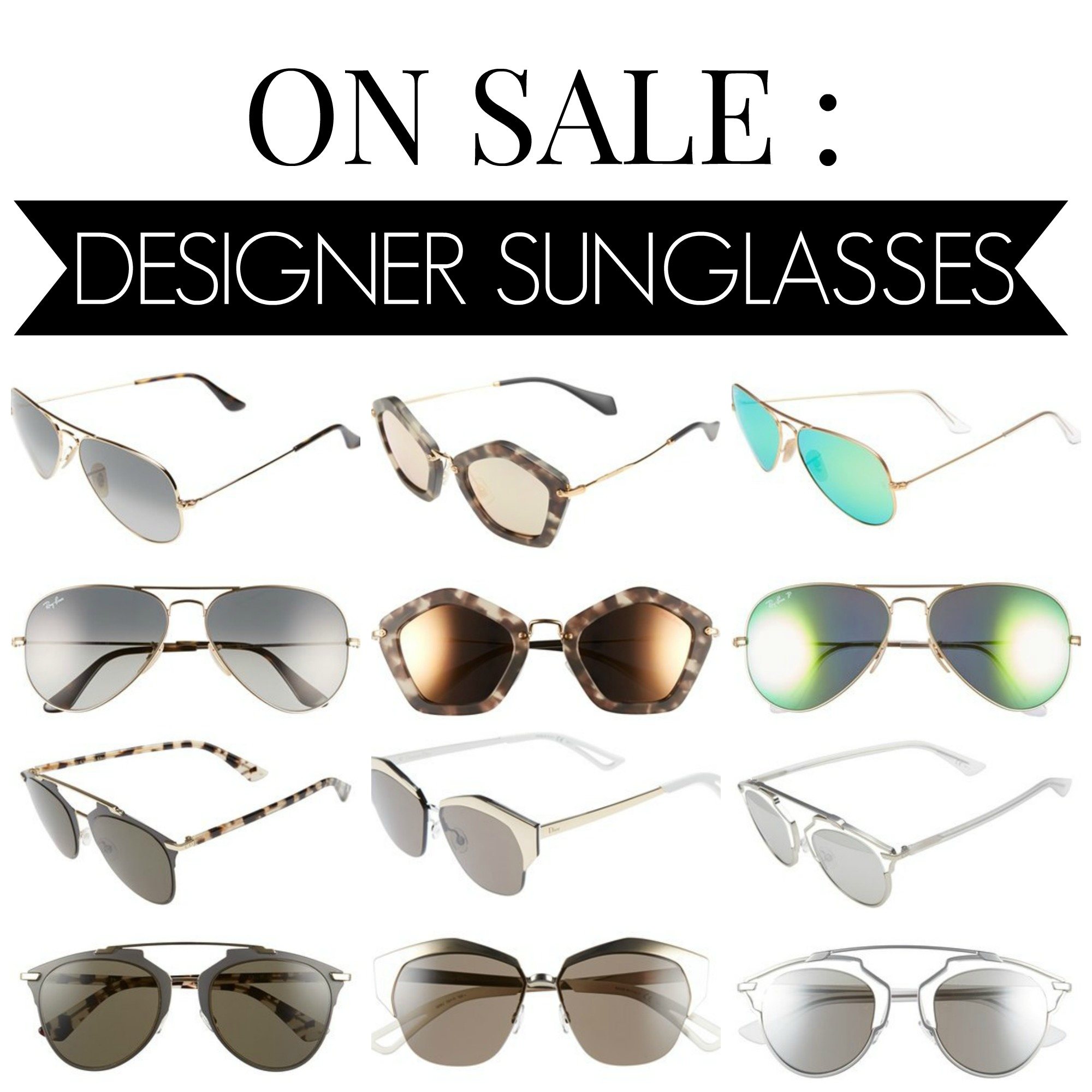 27d33c47aa7 ON SALE   Designer Sunglasses - Airelle Snyder