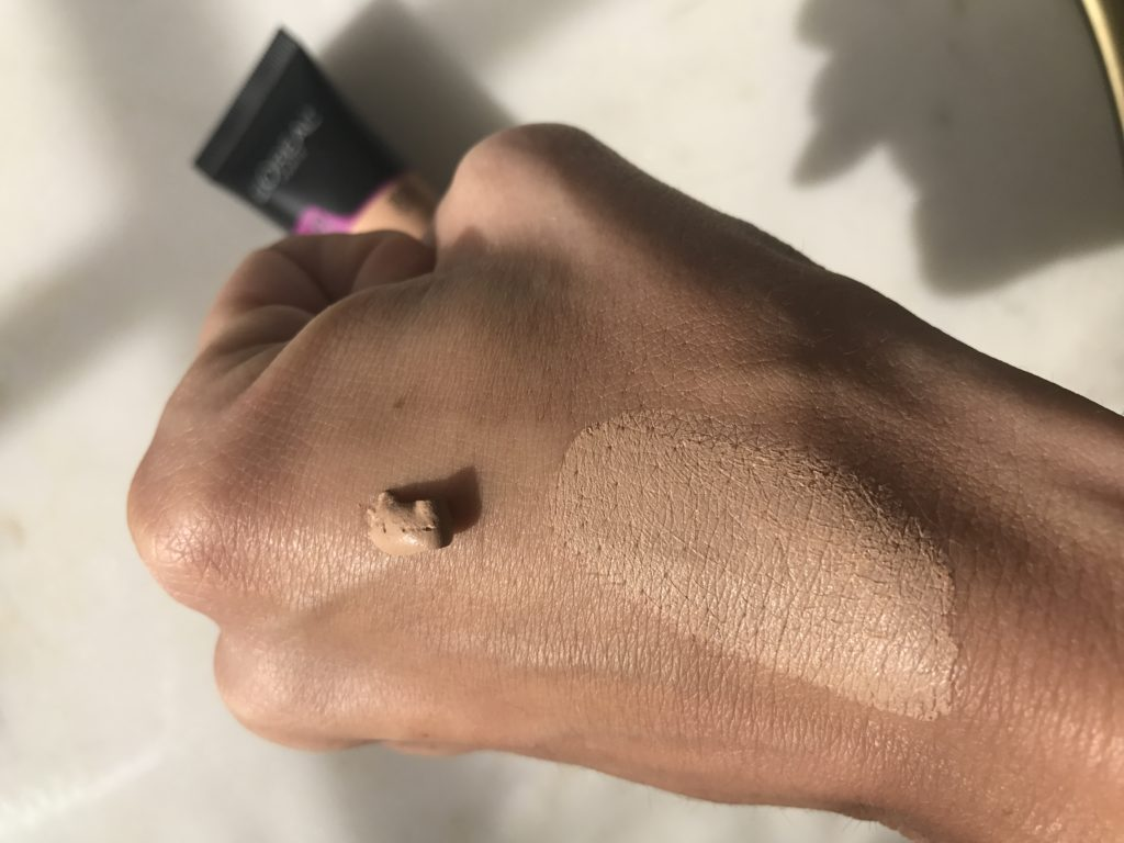 Loreal Total Cover Infallible Foundation Review and Swatches