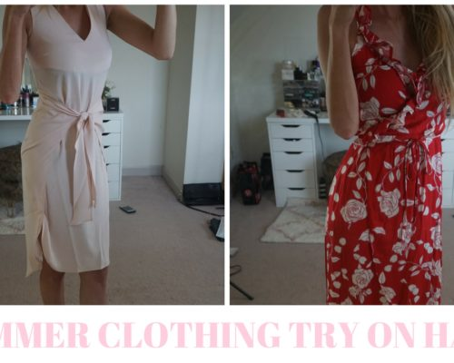 affordable summer clothing haul