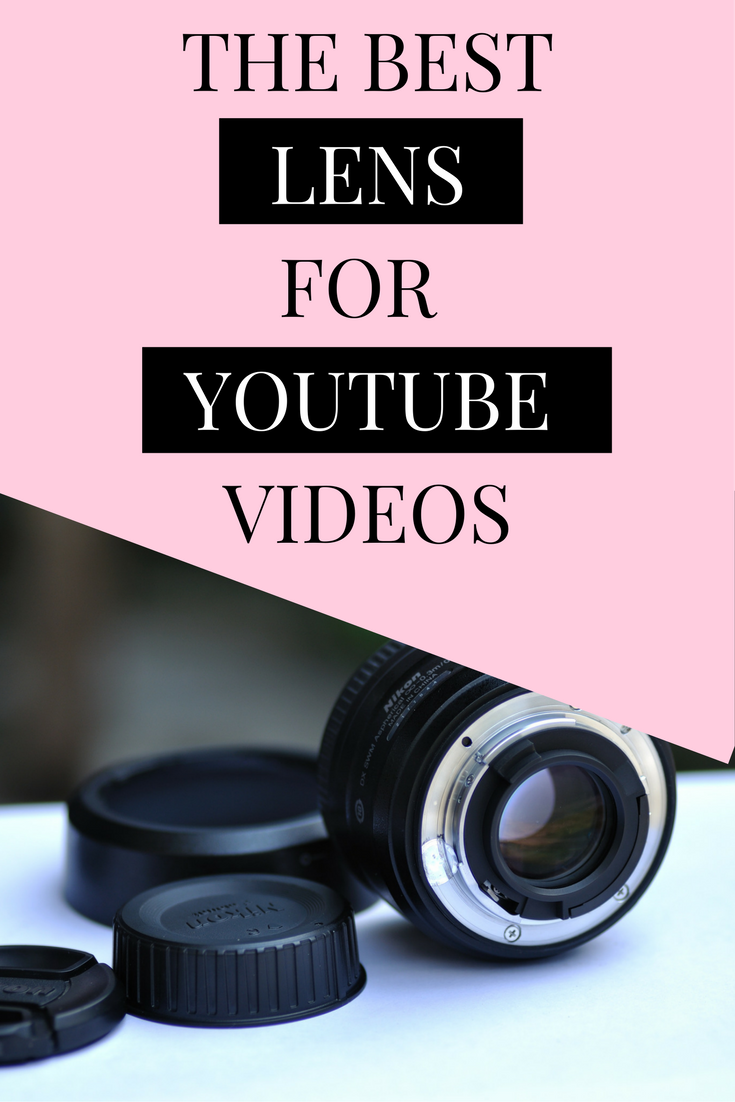 The best lens for youtube videos