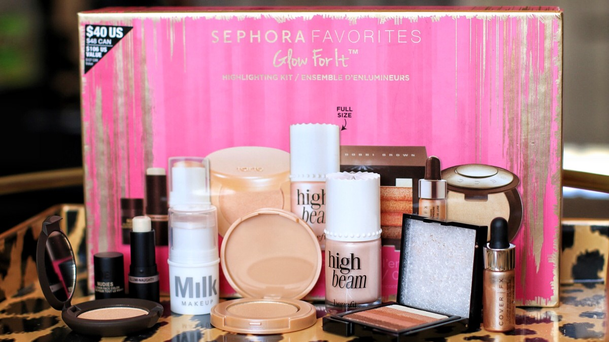 SEPHORA FAVORITES GLOW KIT SWATCHES AND REVIEW