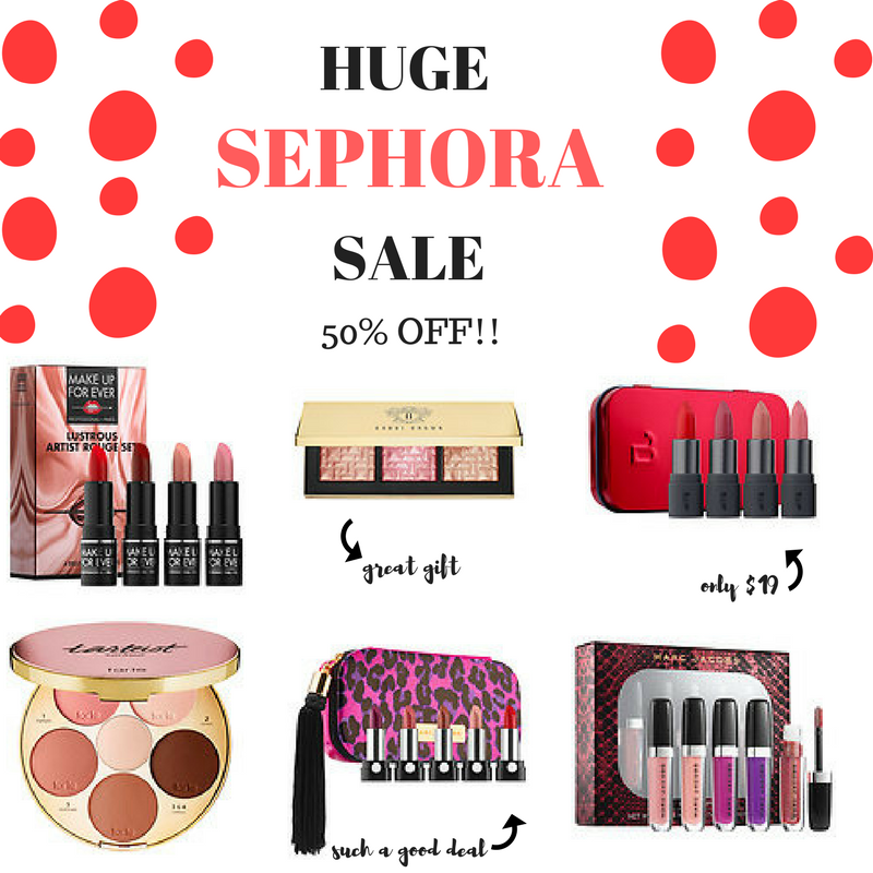 Sephora Sale Black Friday Recommendations 2017